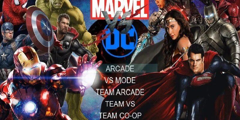 descargar Marvel VS DC Mugen