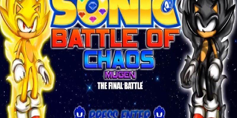 descargar Sonic Battle Of Chaos MUGEN