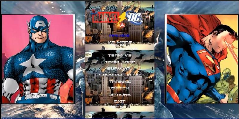 Descargar Marvel Vs DC Mugen v 1.0