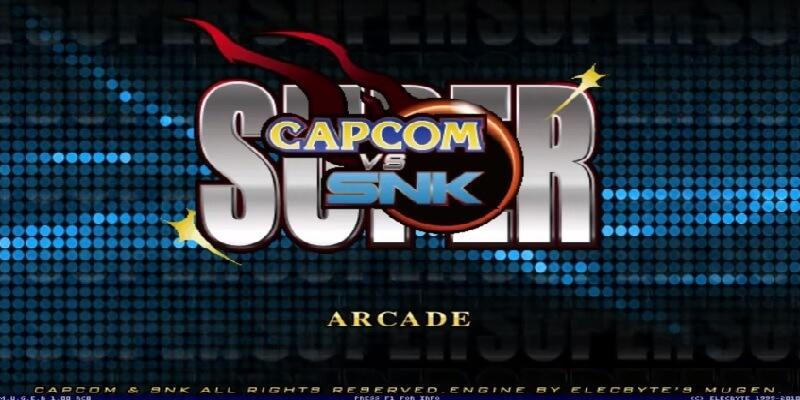 Descargar Super Capcom vs. SNK mugen