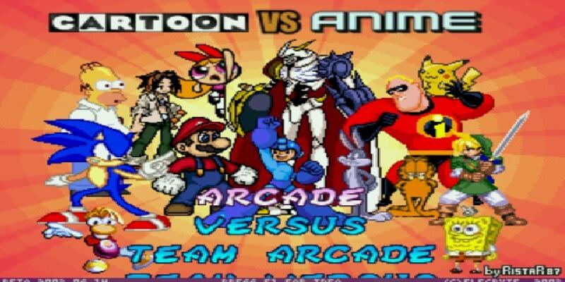 Descargar Cartoon vs Anime mugen pc