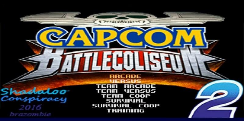 Capcom Battle coliseum 2 MUGEN