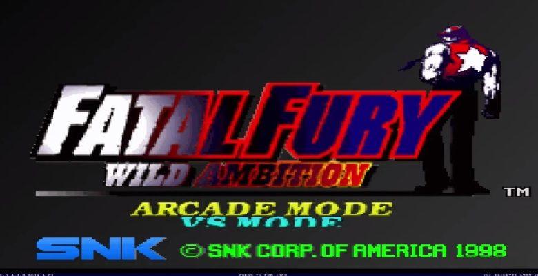 descargar Fatal Fury Wild Ambition Mugen