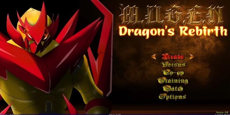 descargar Mugen Fighters Dragons Rebirth