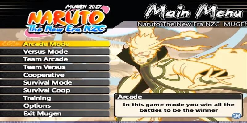 descargar Naruto The New Era NZC mugen