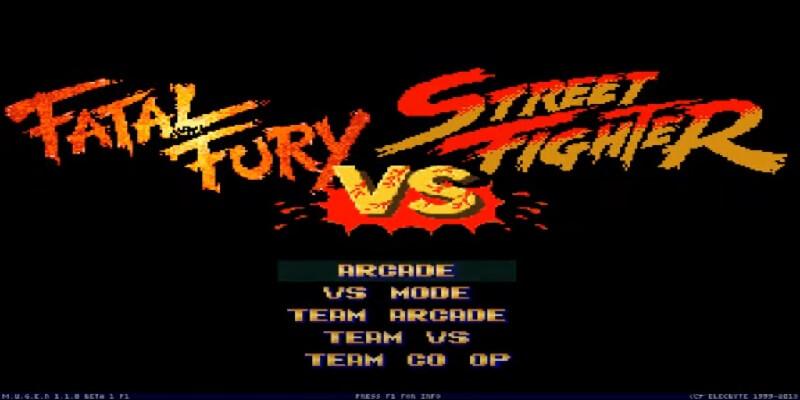 descargar Street fighter vs. fatal fury