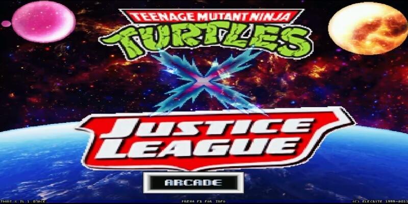 descargar TMNT X Justice League mugen