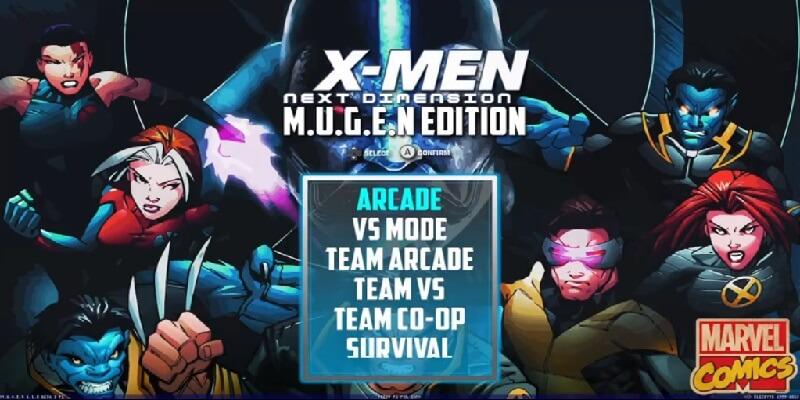 descargar X-MEN NEXT DIMENSION MUGEN