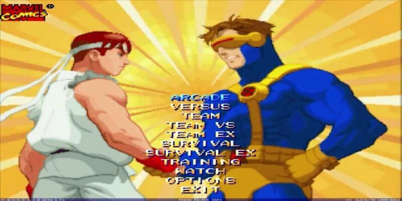 descargar X-MEN VS STREET FIGHTER MUGEN