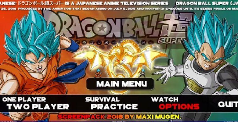 DRAGON BALL MUGEN SUPER SAGAS