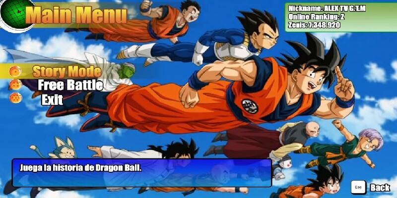 DRAGON BALL RAGING BLAST 3 MUGEN