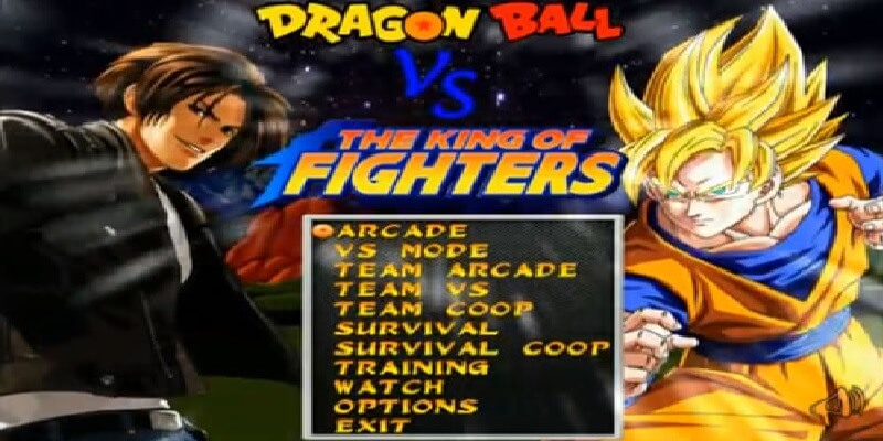DRAGON BALL VS THE KING OF FIGHTERS MUGEN