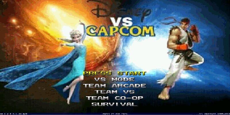 Disney vs Capcom Mugen