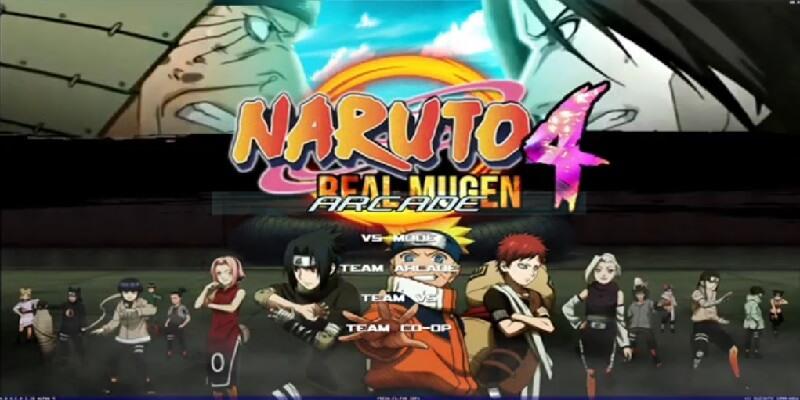 NARUTO REAL MUGEN 4