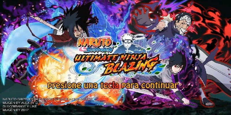 Naruto Shippuden Ultimate Ninja Blazing Mugen