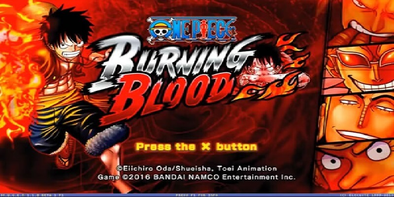 ONE PIECE BURNING BLOOD MUGEN