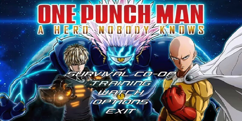 ONE PUNCH MAN A HERO NOBODY KNOWS MUGEN