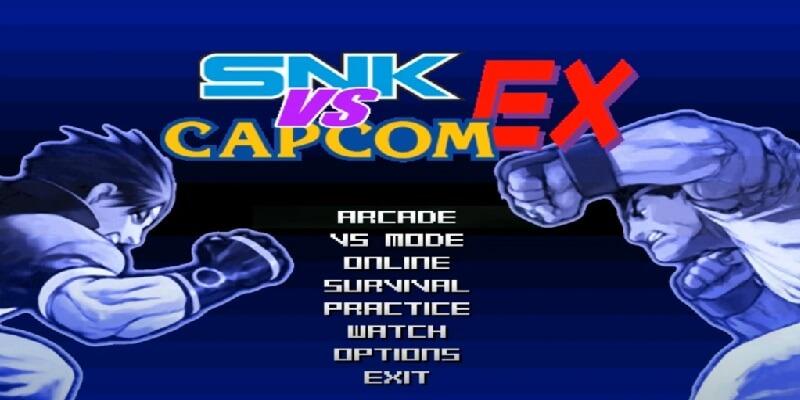 SNK VS CAPCOM EX MUGEN
