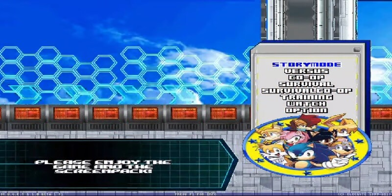 SONIC FIGHTERS 2 MUGEN