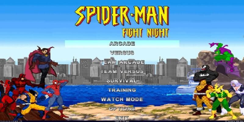 SPIDER-MAN FIGHT NIGHT MUGEN