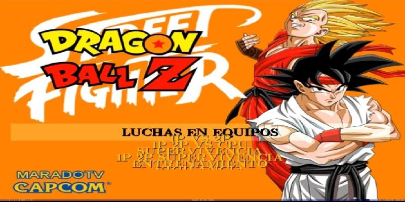 Street Fighter Vs Dragon Ball Revenge 2 Mugen