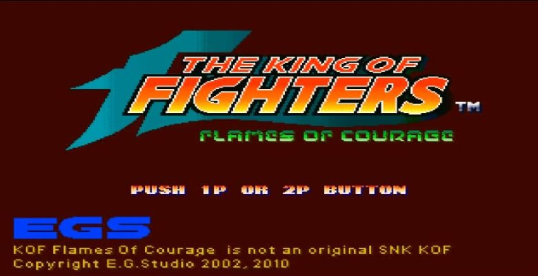 The King Of Fighter FLAMES OF COURAGE Mugen