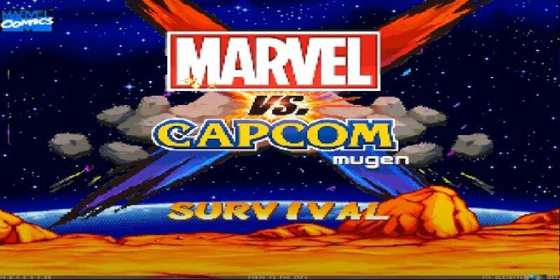 MARVEL VS CAPCOM X MUGEN