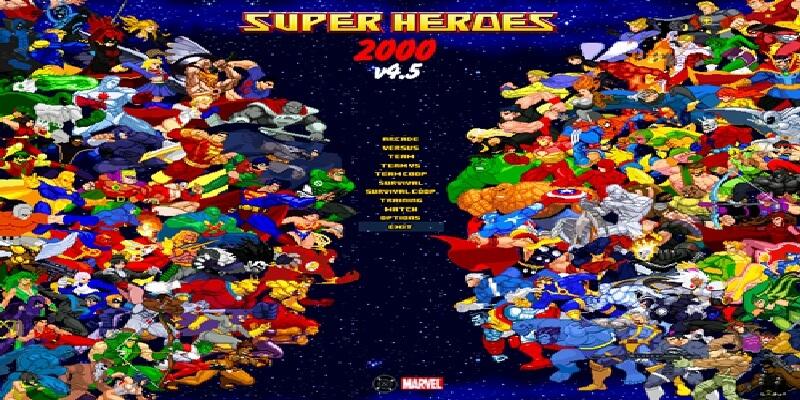 SUPER HEROES 2000 V.4.5 MUGEN