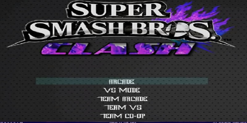 SUPER SMASH BROS CLASH 2.0 MUGEN
