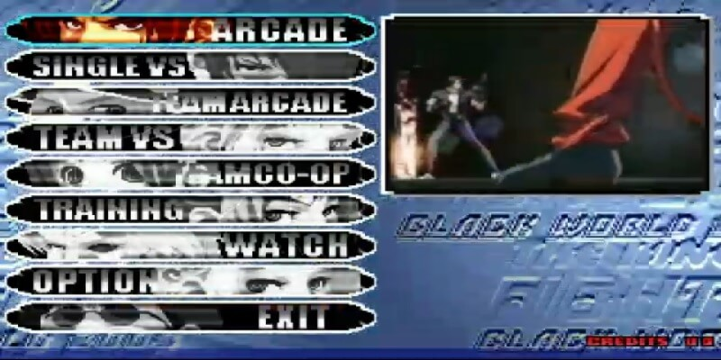 THE KING OF FIGHTERS BLACK WORLD '03 MUGEN