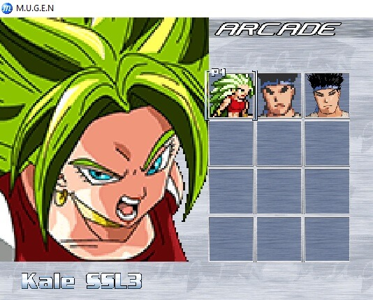 character rows and columns in mugen