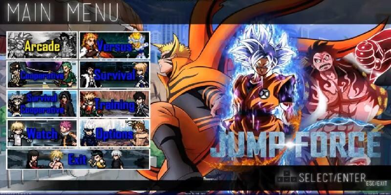 Jump Force Mugen V8