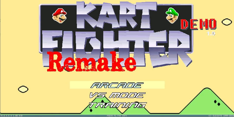 Kart Fighter Remake MUGEN DEMO rev.1.0