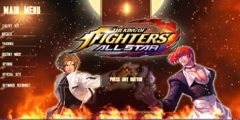 THE KING OF FIGHTERS ALL STARS MUGEN