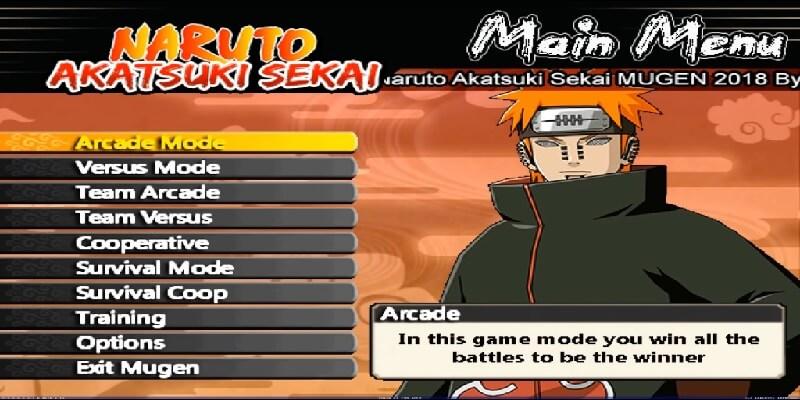 Naruto Akatsuki Sekai Mugen
